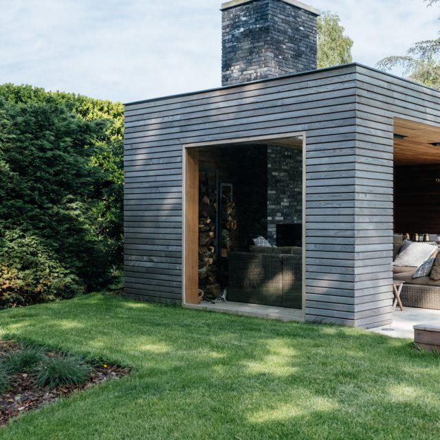 poolhouse, tuinberging, tuinkamer, houten bijgebouw