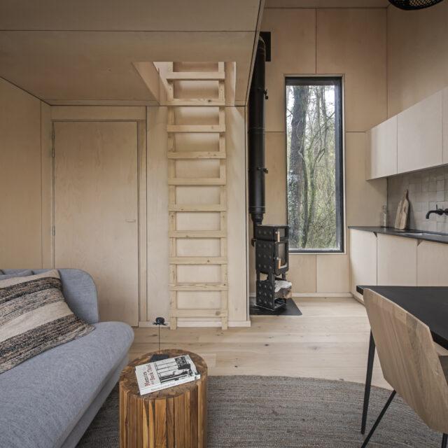 Boomhut, tiny house, buitenverblijf, vakantiewoning