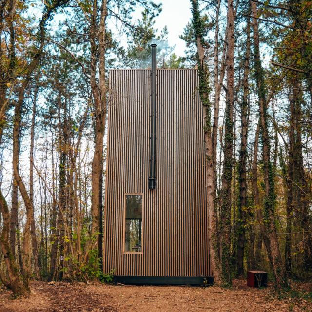 boomhut, tiny house