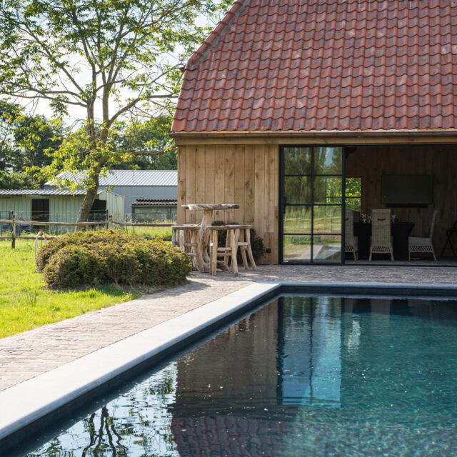 klassiek bijgebouw, poolhouse, orangerie