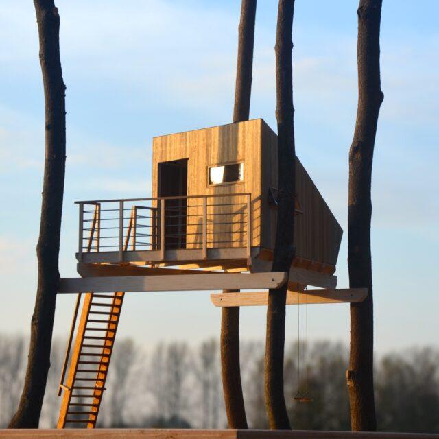 boomhut, treehouse, architectuur